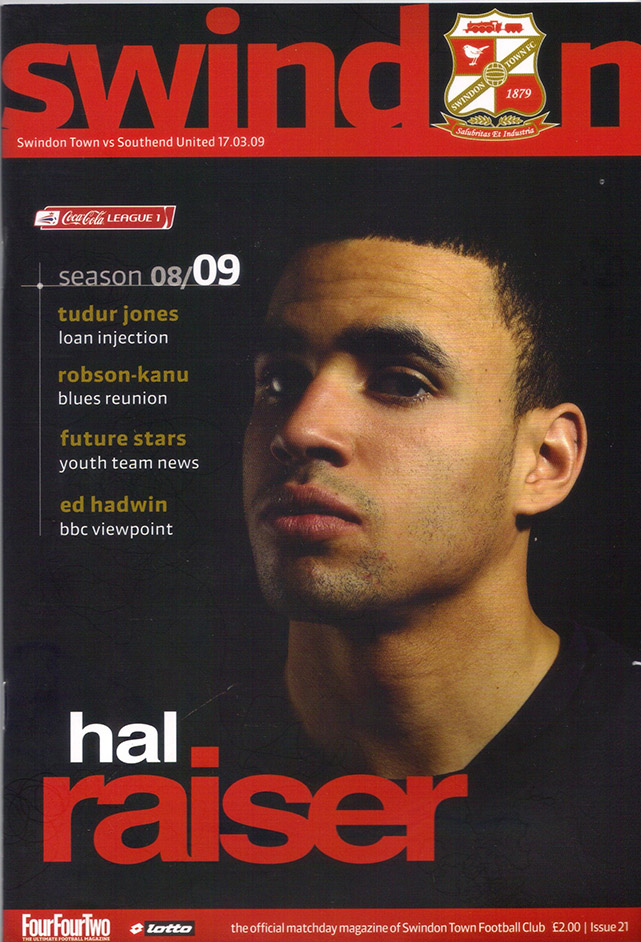 Tuesday, March 17, 2009 - vs. Southend United (Home)