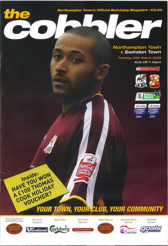 Tuesday, March 24, 2009 - vs. Northampton Town (Away)