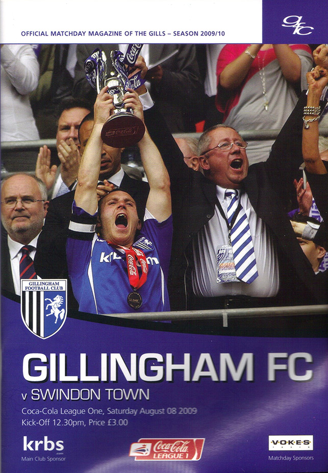 Saturday, August 8, 2009 - vs. Gillingham (Away)