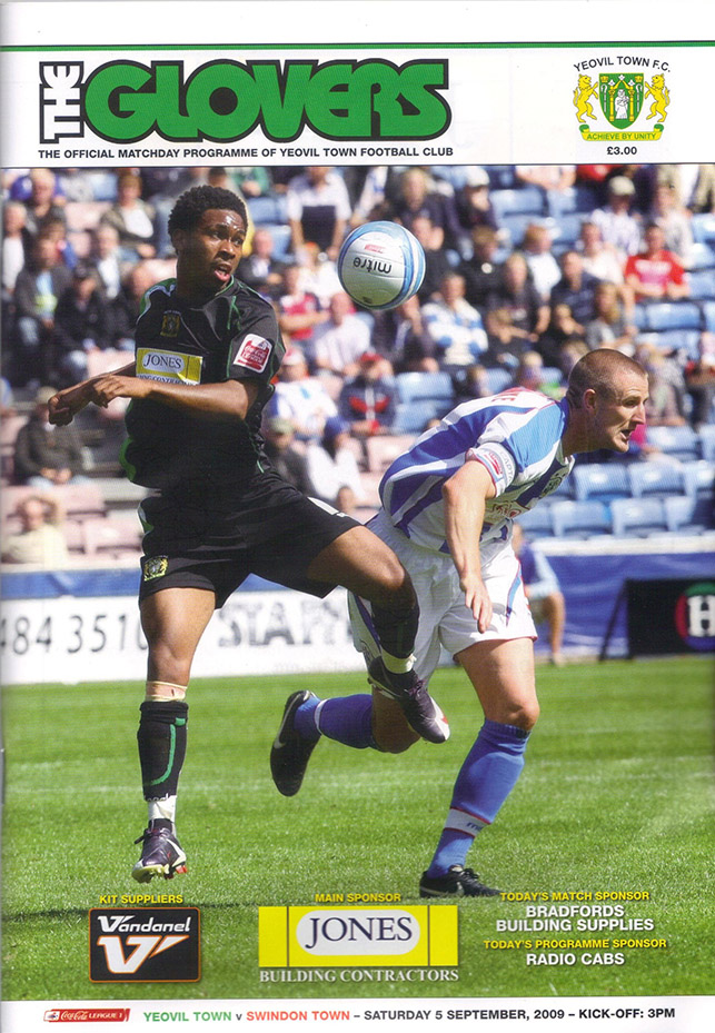 Saturday, September 5, 2009 - vs. Yeovil Town (Away)