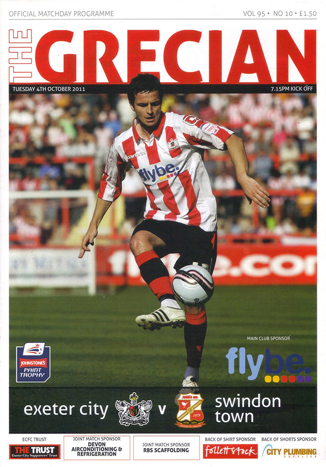 Tuesday, October 4, 2011 - vs. Exeter City (Away)