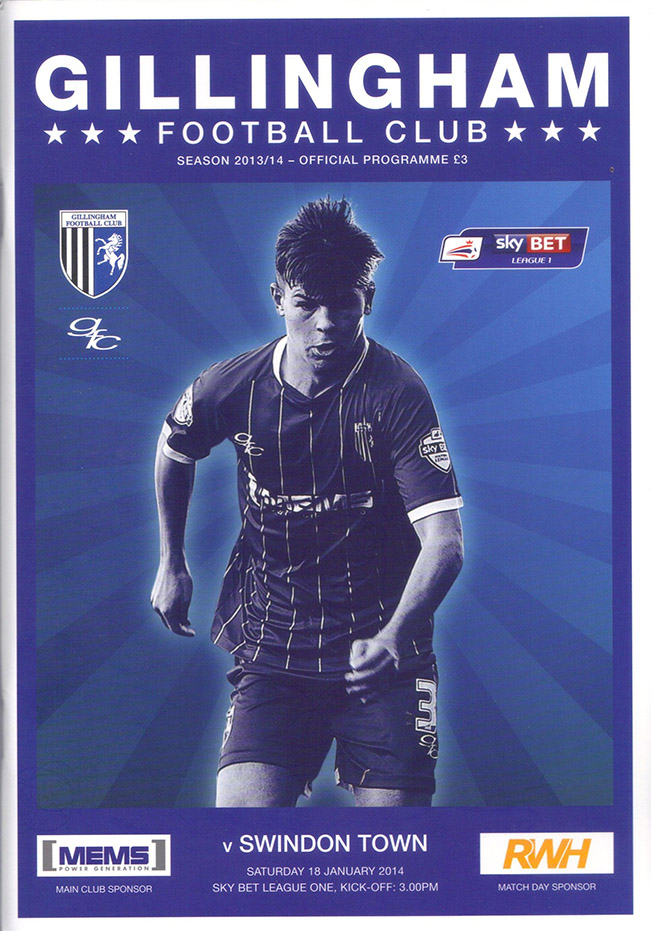 <b>Saturday, January 18, 2014</b><br />vs. Gillingham (Away)