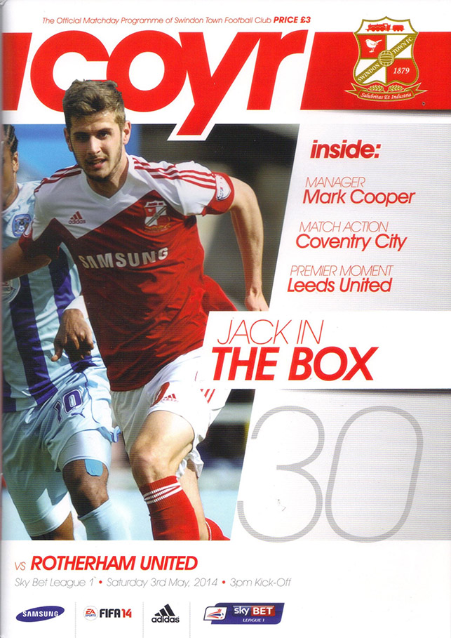 <b>Saturday, May 3, 2014</b><br />vs. Rotherham United (Home)