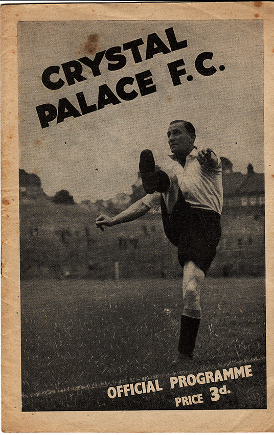<b>Saturday, November 9, 1946</b><br />vs. Crystal Palace (Away)