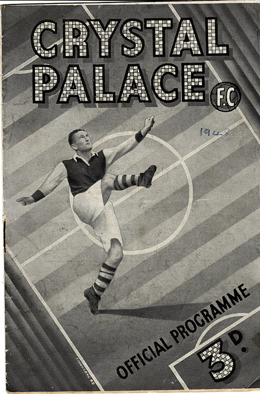 Saturday, October 30, 1948 - vs. Crystal Palace (Away)