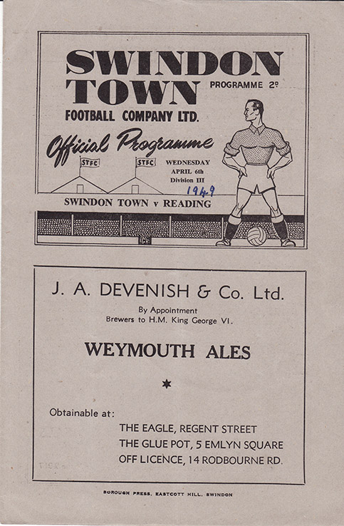 Wednesday, April 6, 1949 - vs. Reading (Home)