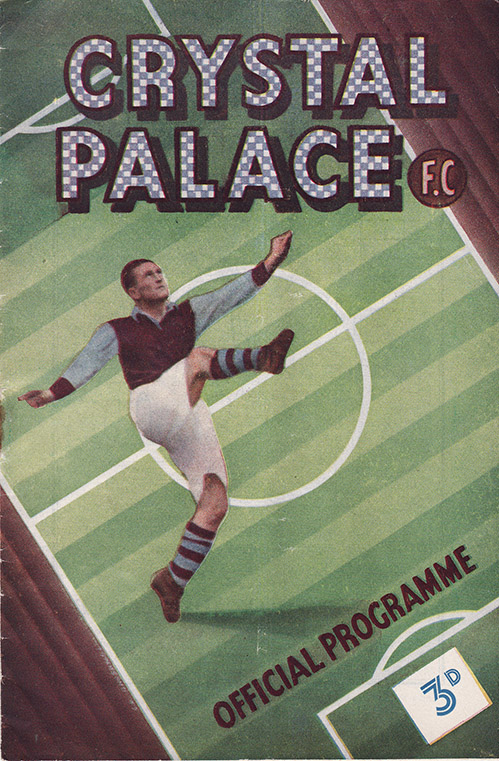 Saturday, October 15, 1949 - vs. Crystal Palace (Away)