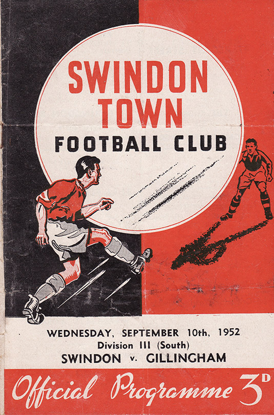 Wednesday, September 10, 1952 - vs. Gillingham (Home)