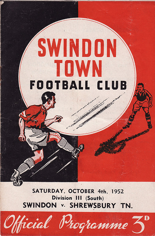 Saturday, October 4, 1952 - vs. Shrewsbury Town (Home)