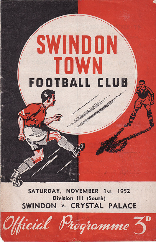 Saturday, November 1, 1952 - vs. Crystal Palace (Home)