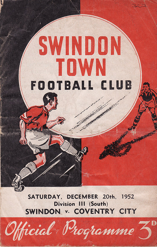 Saturday, December 20, 1952 - vs. Coventry City (Home)