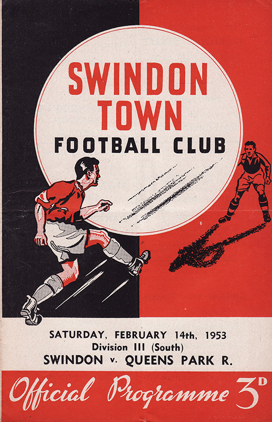 Saturday, February 14, 1953 - vs. Queens Park Rangers (Home)