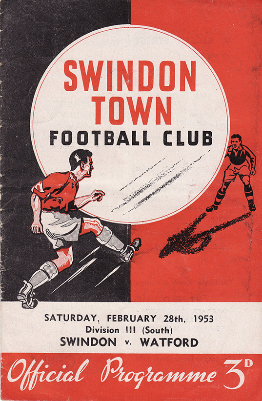 Saturday, February 28, 1953 - vs. Watford (Home)