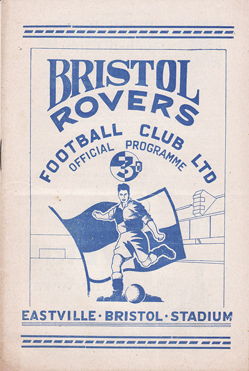 Monday, April 6, 1953 - vs. Bristol Rovers (Away)