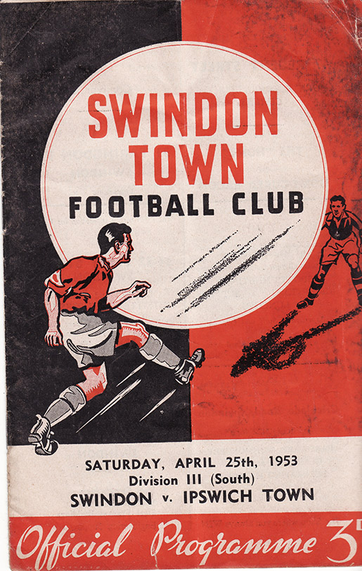 Saturday, April 25, 1953 - vs. Ipswich Town (Home)