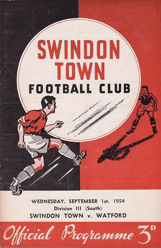 Wednesday, September 1, 1954 - vs. Watford (Home)