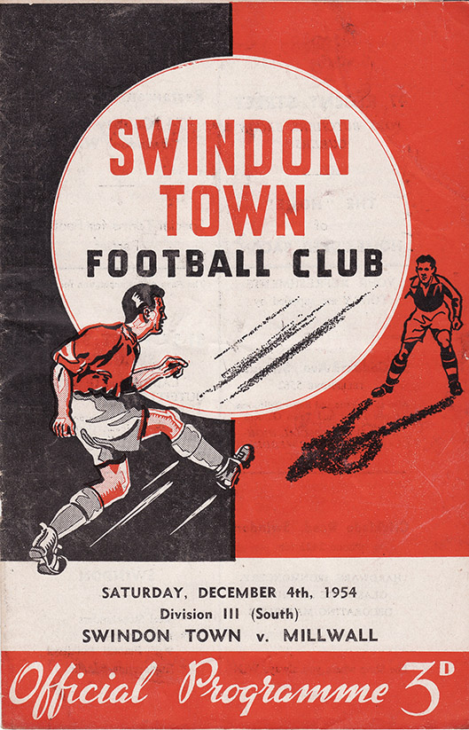 Saturday, December 4, 1954 - vs. Millwall (Home)