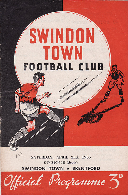 Saturday, April 2, 1955 - vs. Brentford (Home)