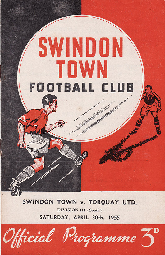 Saturday, April 30, 1955 - vs. Torquay United (Home)