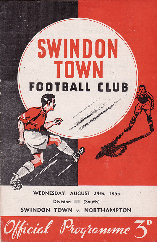 Wednesday, August 24, 1955 - vs. Northampton Town (Home)