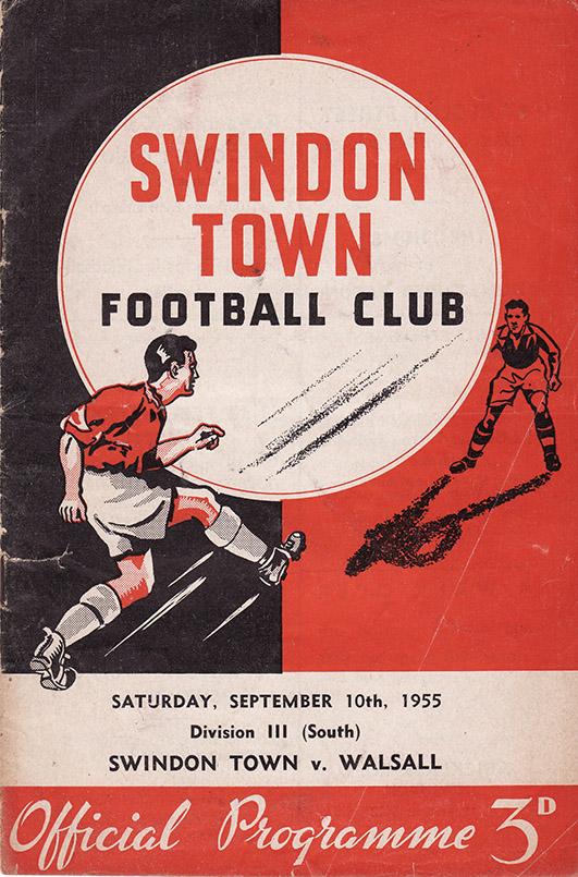 Saturday, September 10, 1955 - vs. Walsall (Home)