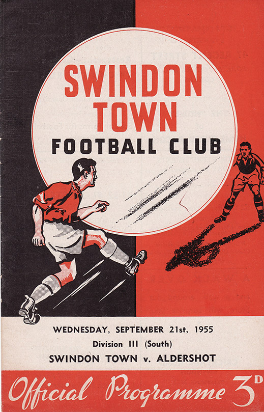 Wednesday, September 21, 1955 - vs. Aldershot (Home)