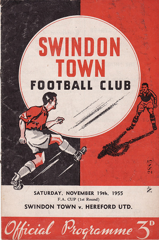 Saturday, November 19, 1955 - vs. Hereford United (Home)