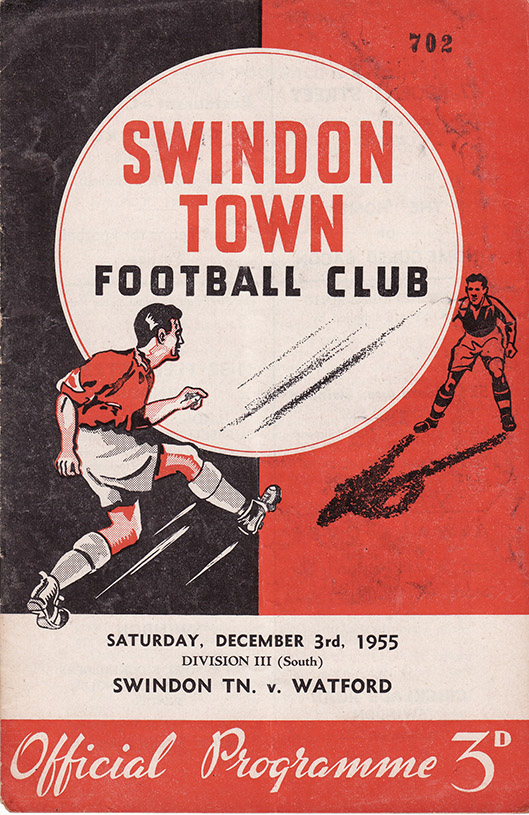 Saturday, December 3, 1955 - vs. Watford (Home)