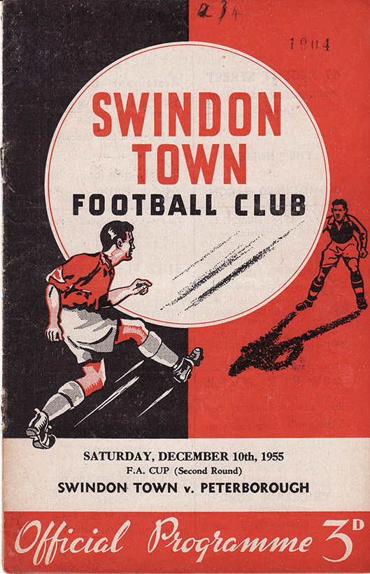 Saturday, December 10, 1955 - vs. Peterborough United (Home)