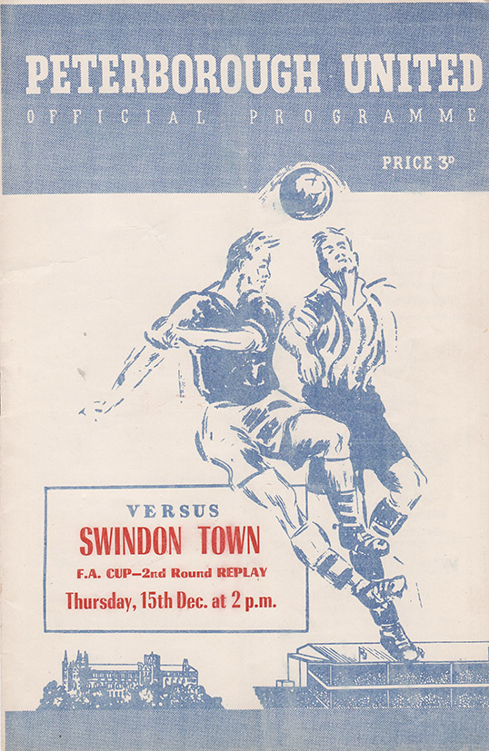 Thursday, December 15, 1955 - vs. Peterborough United (Away)