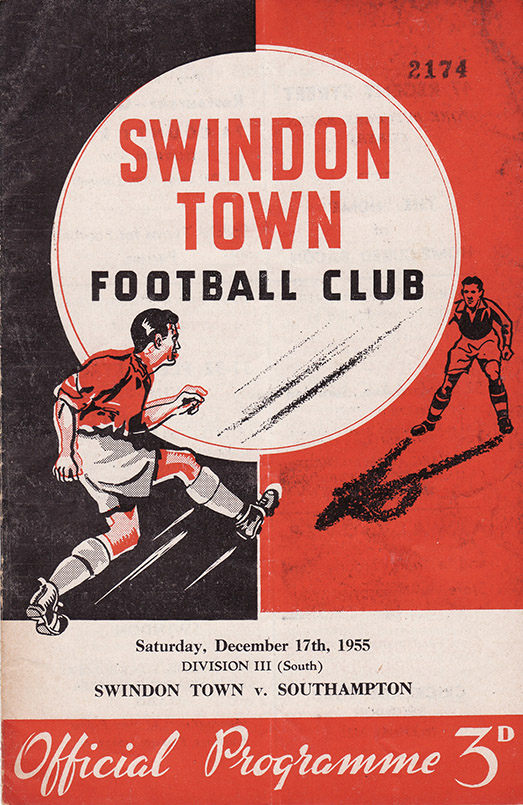 Saturday, December 17, 1955 - vs. Southampton (Home)