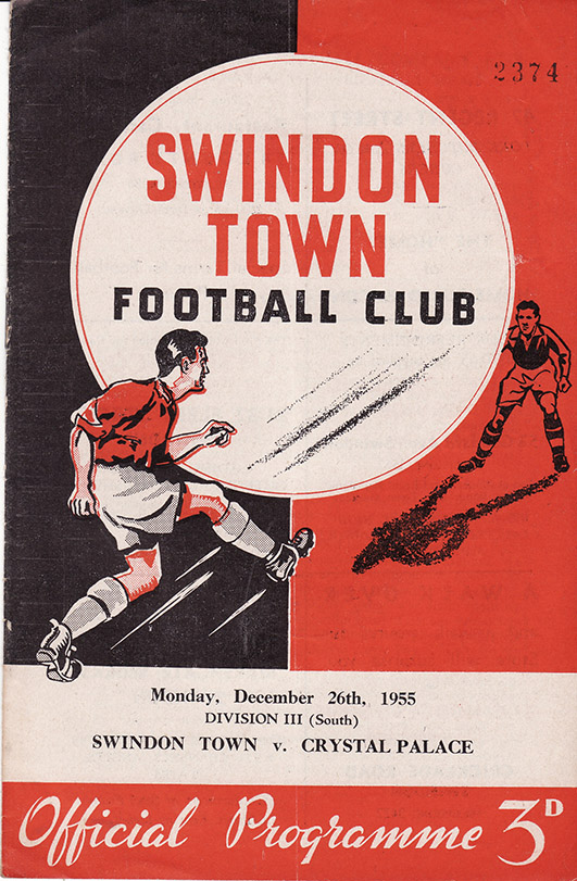 Monday, December 26, 1955 - vs. Crystal Palace (Home)