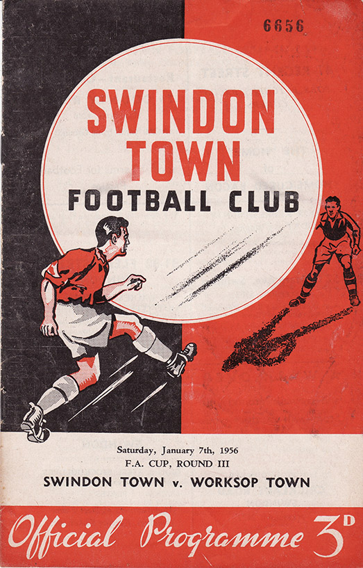 Saturday, January 7, 1956 - vs. Worksop Town (Home)