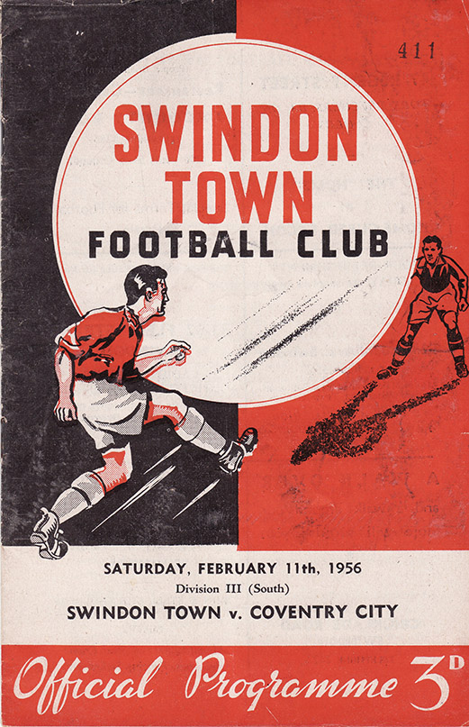 Saturday, February 11, 1956 - vs. Coventry City (Home)