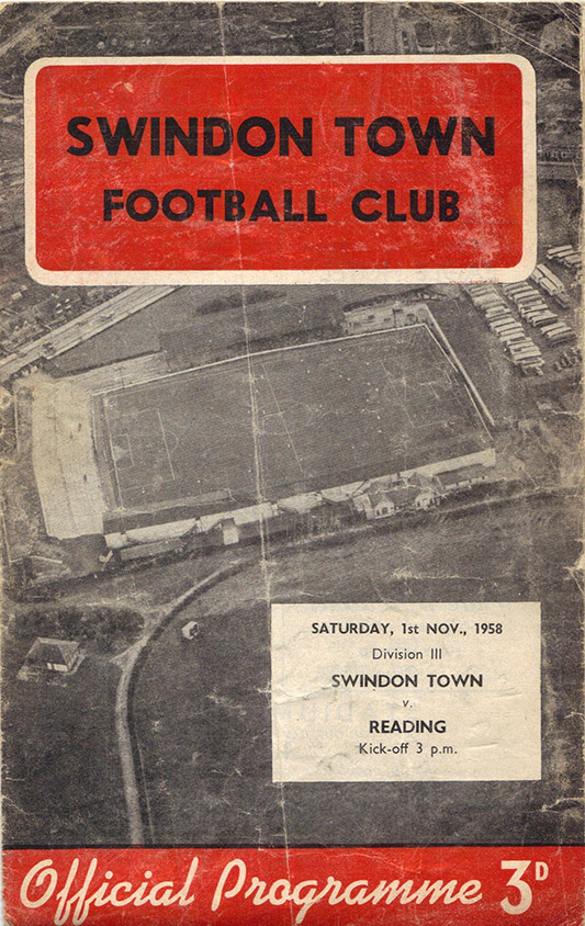 <b>Saturday, November 1, 1958</b><br />vs. Reading (Home)