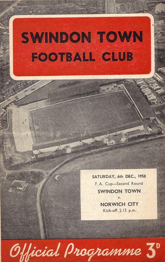 <b>Saturday, December 6, 1958</b><br />vs. Norwich City (Home)