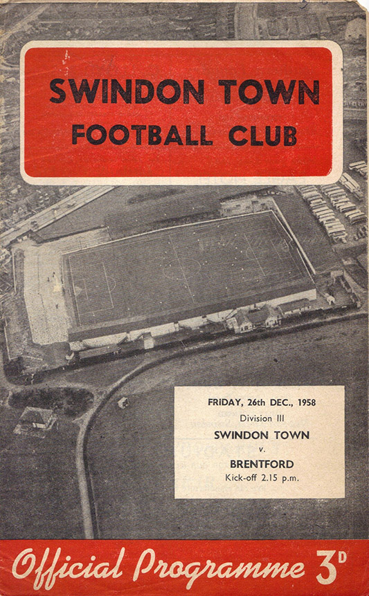 <b>Friday, December 26, 1958</b><br />vs. Brentford (Home)