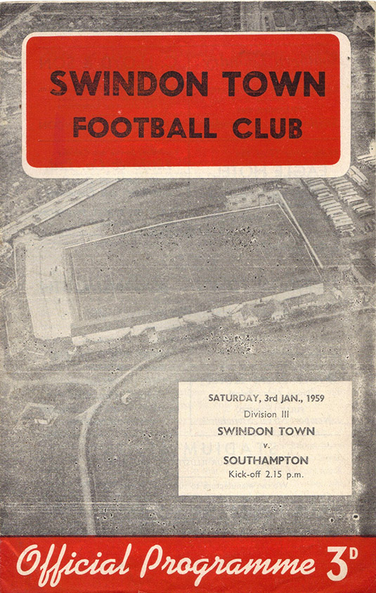 <b>Saturday, January 3, 1959</b><br />vs. Southampton (Home)