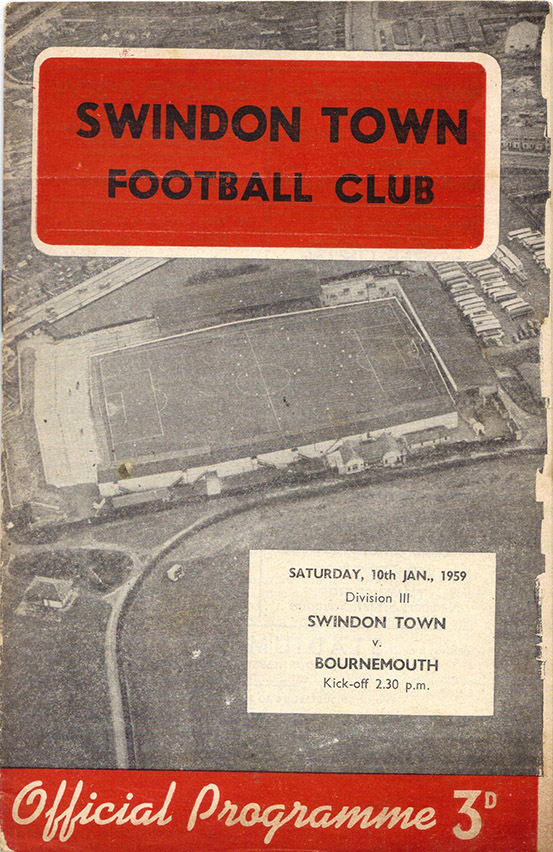 <b>Saturday, January 10, 1959</b><br />vs. Bournemouth and Boscombe Athletic (Home)