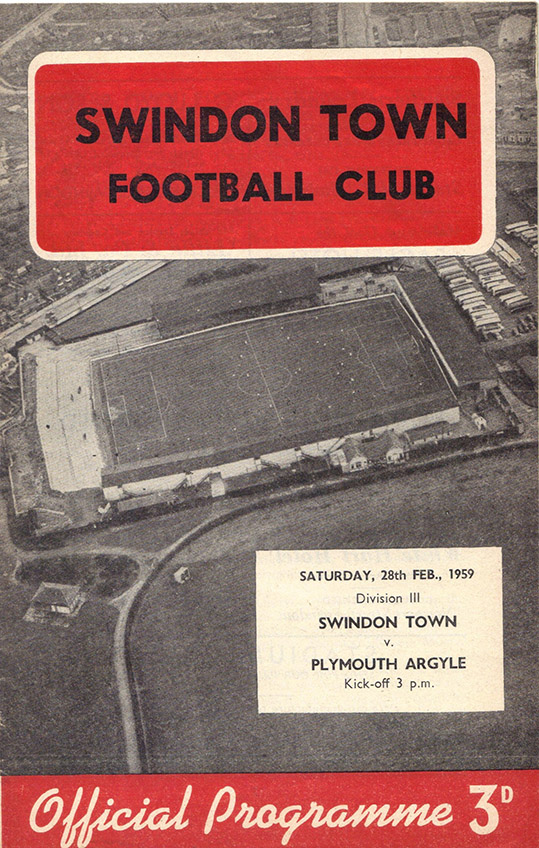 <b>Saturday, February 28, 1959</b><br />vs. Plymouth Argyle (Home)