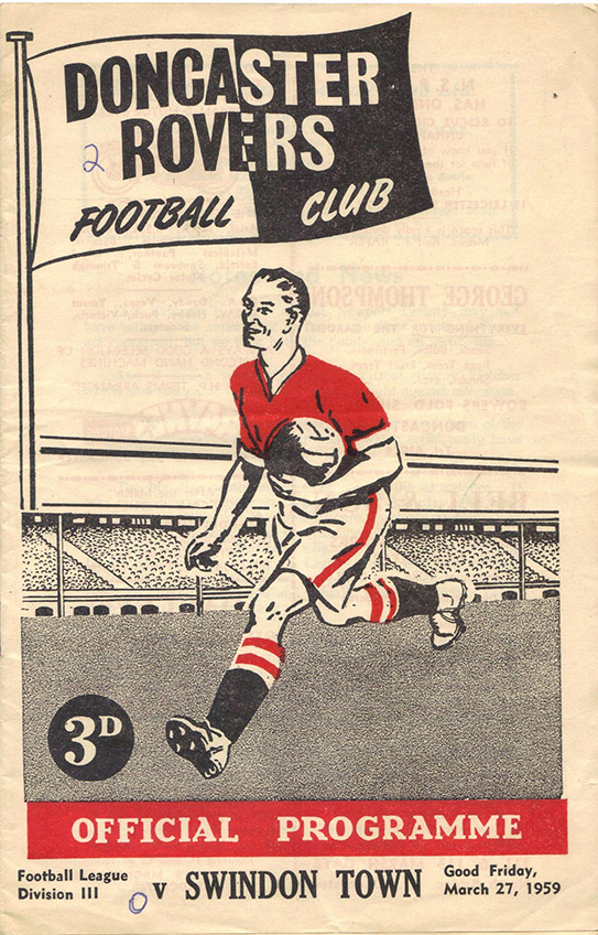 <b>Friday, March 27, 1959</b><br />vs. Doncaster Rovers (Away)
