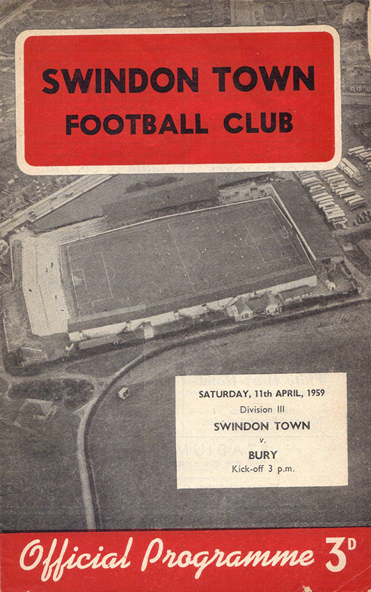 <b>Saturday, April 11, 1959</b><br />vs. Bury (Home)