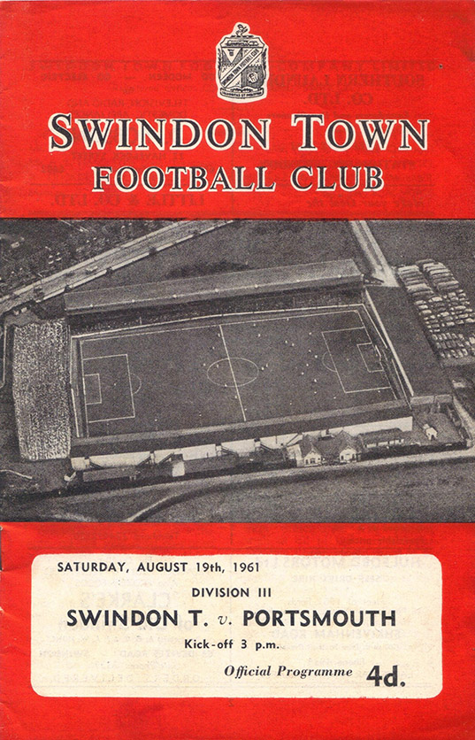Saturday, August 19, 1961 - vs. Portsmouth (Home)