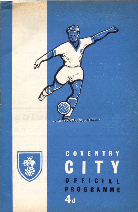 Monday, August 21, 1961 - vs. Coventry City (Away)
