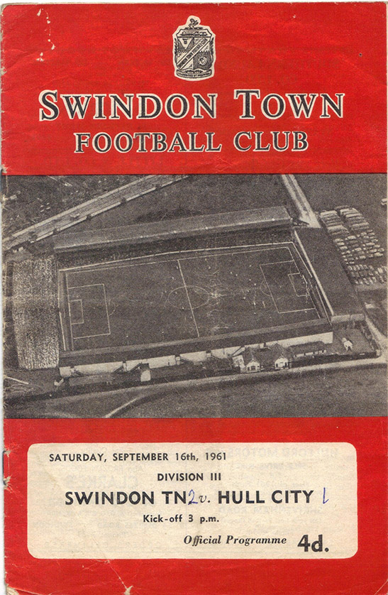 Saturday, September 16, 1961 - vs. Hull City (Home)