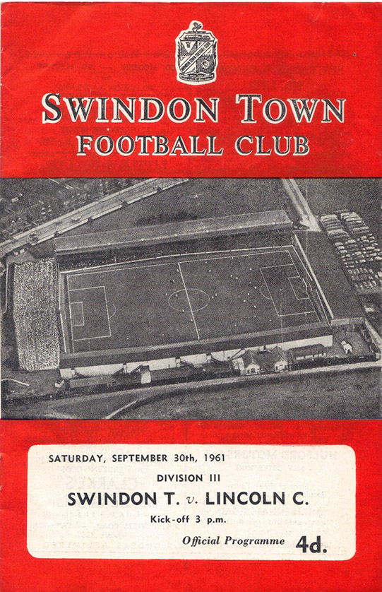 Saturday, September 30, 1961 - vs. Lincoln City (Home)