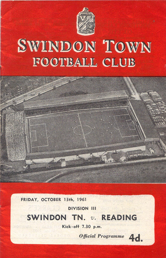 Friday, October 13, 1961 - vs. Reading (Home)