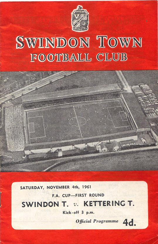 Saturday, November 4, 1961 - vs. Kettering Town (Home)