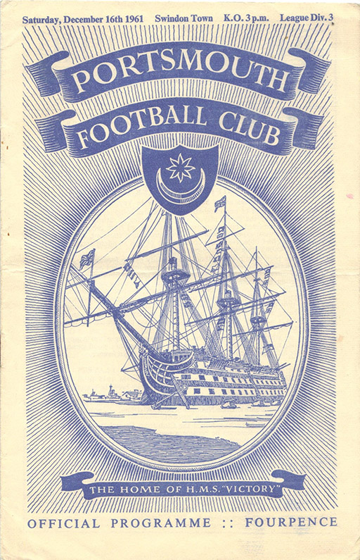 Saturday, December 16, 1961 - vs. Portsmouth (Away)