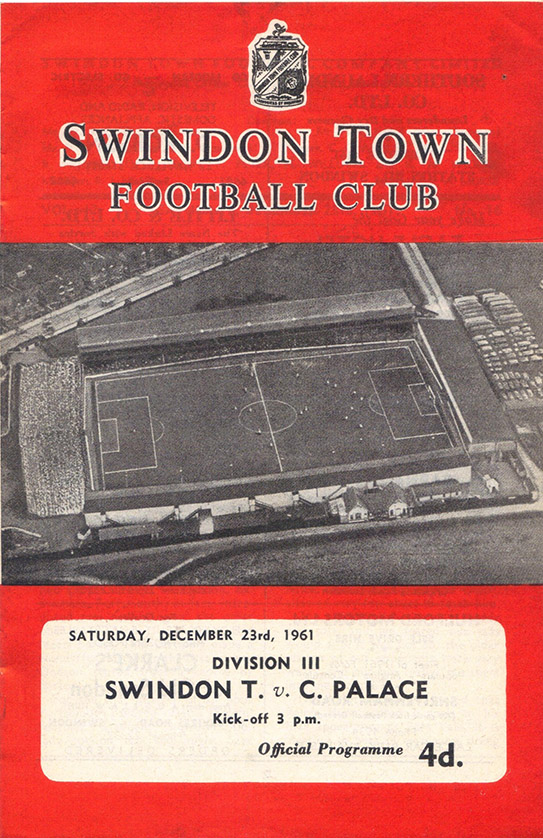 Saturday, December 23, 1961 - vs. Crystal Palace (Home)